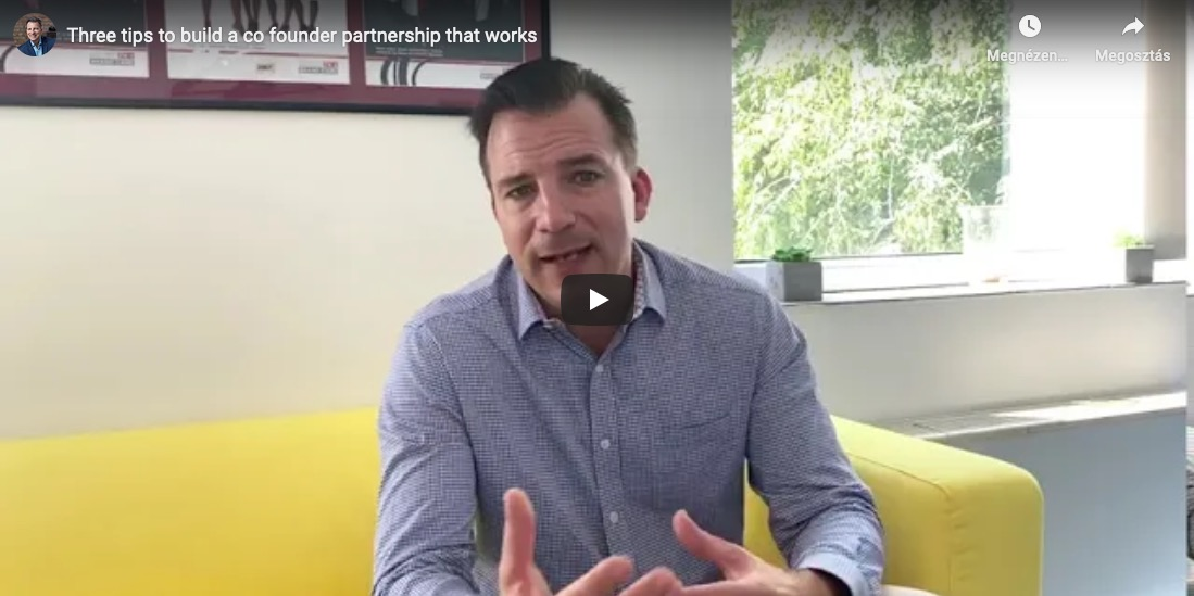 3 tips to co-founders