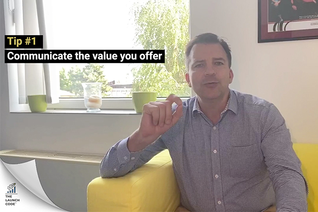 Communicate your value offer